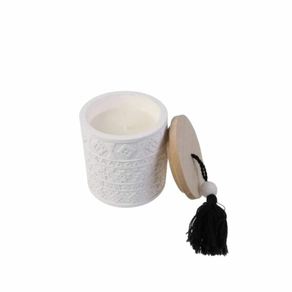bougie-céramique-bois